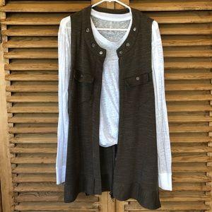🔴Free People knit layering tunic vest